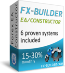 Live test results for FxBuilder verified Forex Robot