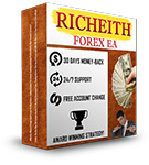 Live test results for Richeith Forex EA verified Forex Robot